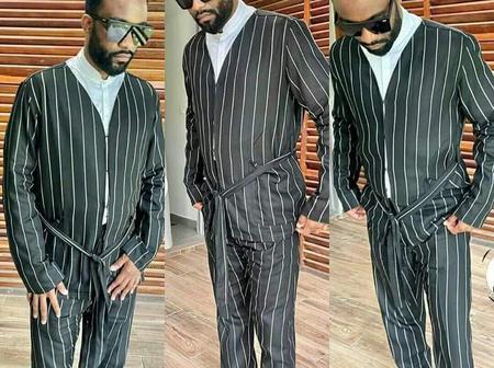 Voici le style vestimentaire de Fally Ipupa aux obsèques d'Hamed Bakayoko qui suscite des réactions