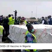 First Batch Of AstraZeneca Covid-19 Vaccines Finally Arrives Nigeria (See Photos And Reactions)