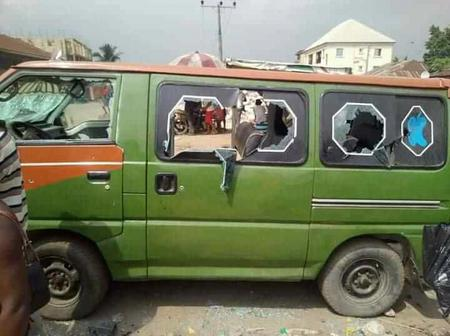 Police In Aba On High Alert, Frowns Sternly Against Tinted Glass Vehicles