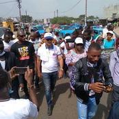 Michel Gbagbo gagne peu à peu du terrain, il a mobilisé une bonne foule à Yopougon Niangon!