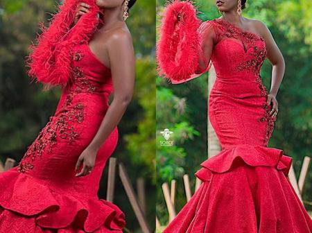 Beautiful Ladies, Checkout These Superb Wedding Reception And Dinner Gowns