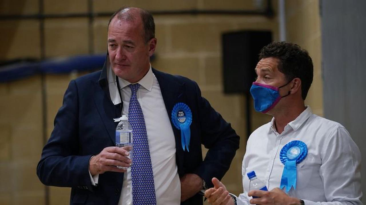 Blue wall wobbles as Conservative stronghold of Chesham and Amersham falls to Lib Dems
