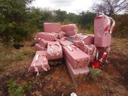 Buried With A Million: Over R1m Worth Of Illicit Cigarette Found At Musina Cemetery