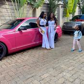 Lanes: Mike Sonko's Daughters Stun And Display Opulence Amid Their Father's Tribulations(Photos)