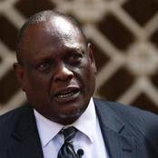 David Murathe Delivers Bad News To Mt. Kenya, Dictates What Will Happen