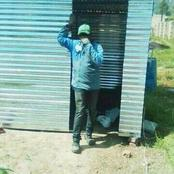 After getting his pension funds man built himself a shack community not happy he said