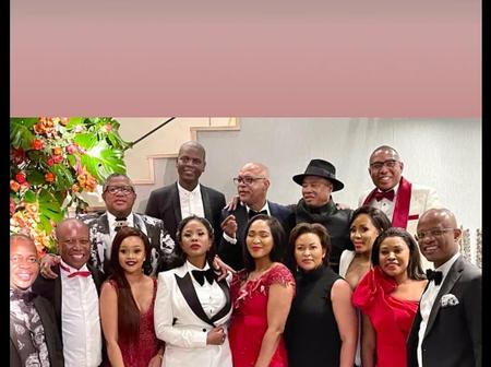 Malema Offers Cheerful Minutes At Mbalula's Private 50th Birthday celebration Gathering
