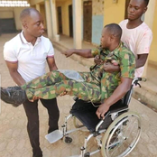 Soldier cries out for help after he was abandoned by Nigerian army, read what happened to him