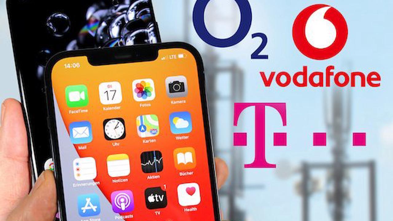 Netz-Test: Mobiles Internet bei Telekom, Vodafone und o2