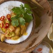 Amarula Chicken and Coconut Curry