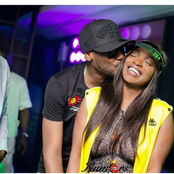 See Lovely Photos Of 2Face Idibia And His Wife After Nine Years Of Marraige
