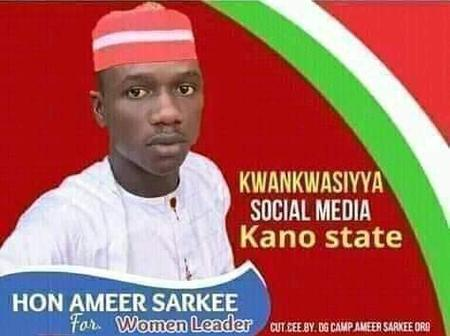 Is This Photoshop? See Reactions As Kano Man Is Contesting For The Position Of Women Leader