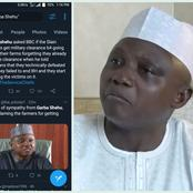 See Arewa People's reactions after Garba Shehu Blamed 43 Dead Farmers For Lacking Military clearance