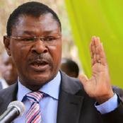 Has Wetangula Sensed A Defeat In Kabuchai? See What He Had Said.
