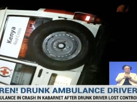 A Drunk Ambulance Driver Causes An Accident