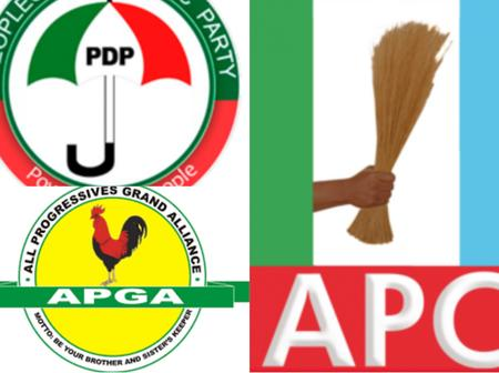 APC vs PDP: Full List of States Controlled By APC, PDP and APGA In 2021