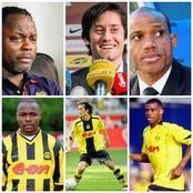 Throwback Photos Of Sunday Oliseh, Tomas Rosicky And Victor Ikpeba As Borrussia Dortmund Players