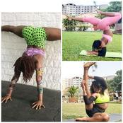 See The Young And Talented Yoga Teacher With Flexible Body Doing Mind Blowing Exercises (Photos)