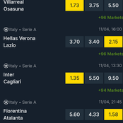 Lazio, Atalanta, Besiktas, Juventus, Braga Are Today's Predictions