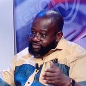 Can't We Apply It In Ghana Since it Comes From The Bible? - Kwame Jantuah
