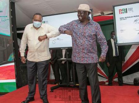 President Uhuru Kenyatta Phone Call To Raila Odinga That Saved BBI From Collapsing
