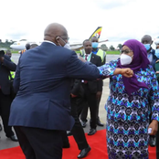 Netizens React After Spotting Samia Suluhu Wearing a Mask in Uganda