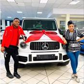 Wife buys husband new Lamborghini Urus on his birthday and he reciprocates with a Benz G63 (Photos)