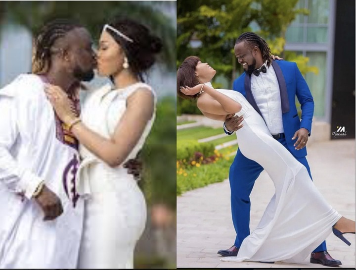 06bfdebf6cc74d71a5dfb449f320c50e?quality=uhq&resize=720 - Painful Lost: Traditional And White Wedding Photos Of Eddie Nartey And His Wife, Vida Who Just Died