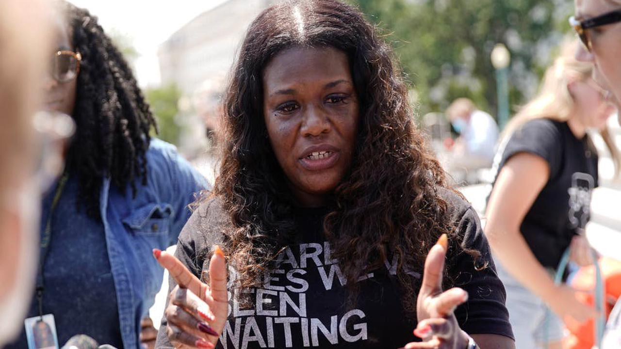 'Bring everybody back': AOC, Bowman and Cori Bush occupy Capitol steps to protest end of eviction moratorium