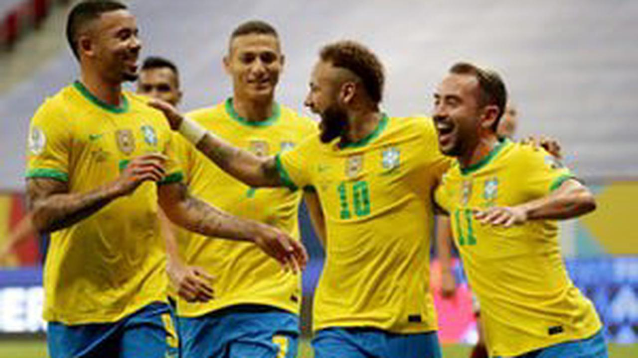 How Brazil could line up against Colombia