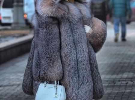 Check out this warm fur coat for winter