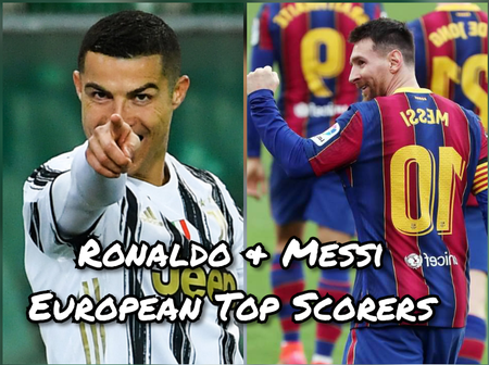 After Cristiano Ronaldo Scored To Overtake Messi, See His Current Position On The Golden Boot Table