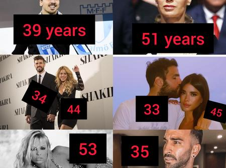 [PHOTOS] Check Out The Top 7 Footballers Whose Wives/Partners Are Far Older Than Them