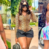 Pictures of the curvy 29-year-old Owerri-born actress who looks like Jackie Appiah