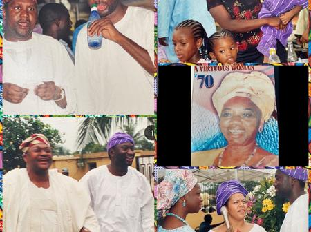 Femi Otedola Shares Throwback Photos Of Nigerian Billionaires And His Family 19 Years Ago