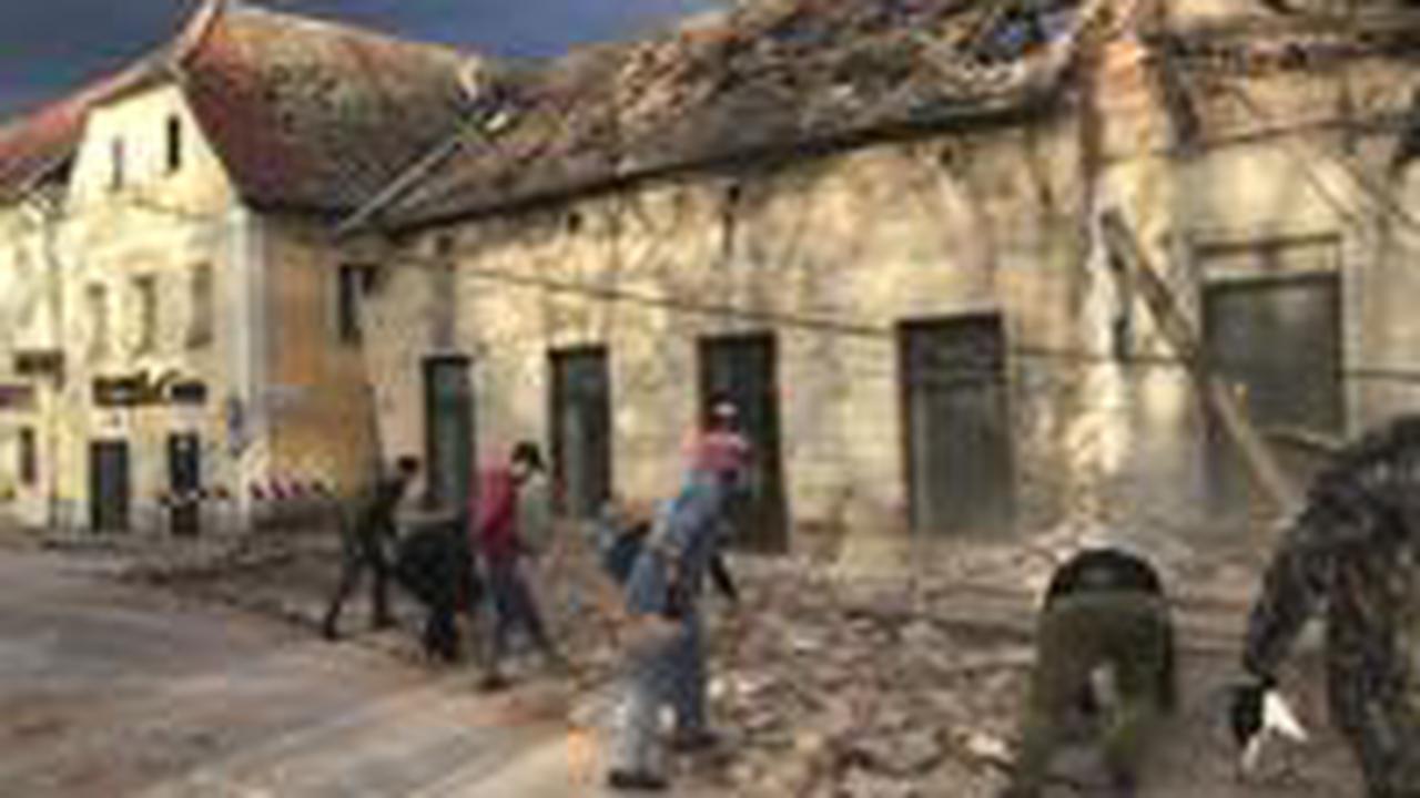 Magnitude 6.3 earthquake strikes Croatia; 5 deaths reported
