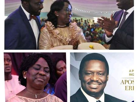 7 Days After Wishing Her Son Happy Birthday, Female Apostle Dies (See Her Family Pictures)