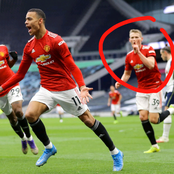 What Fans Spotted What This Manchester United Player Did After Greenwood's Goal Tonight