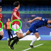 During The Chelsea Vs Manchester United Match, I Observed This On The Manchester United Jersey