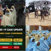Today's Headlines: Jangebe Schoolgirls Regain Freedom, ISWAP Attack UN Base In Borno & More
