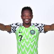 Super Eagles Forward, Ahmed Musa Joins Kano Pillars For The Rest Of The Season