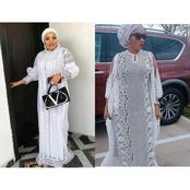Exquisite White Boubou Styles For Mothers