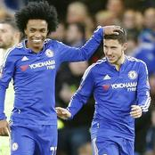"""""""He liked to eat a lot, his tummy would appear"""" Willian reveals Chelsea dressing room jokes to ESPN."""