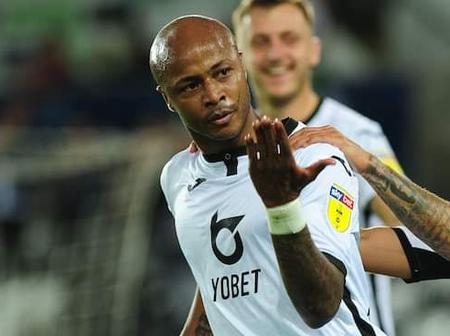 Swansea's return to the Premier League is being led by Andre Ayew