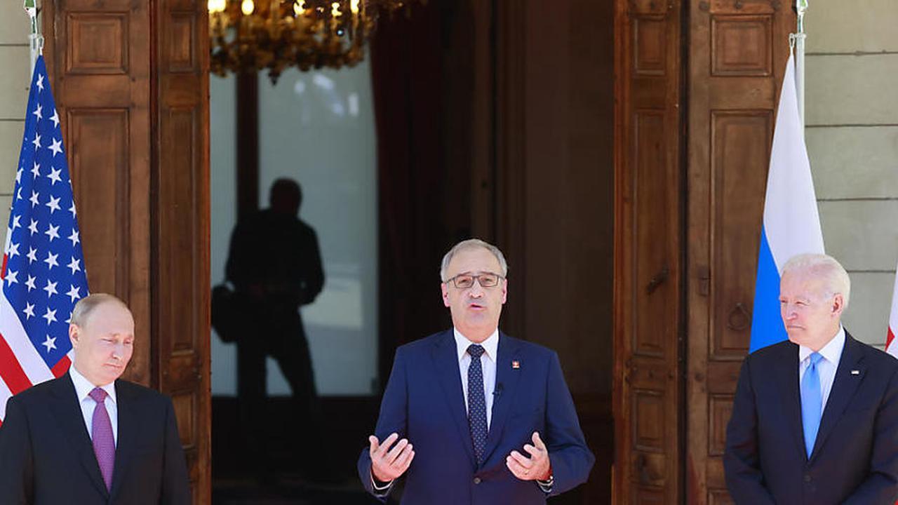 """""""Erfolg für die Schweiz"""": Gipfel in Genf verläuft reibungslos"""