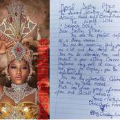 See The Letter A Fan Wrote About Actress Destiny Etiko That Sparked Reactions