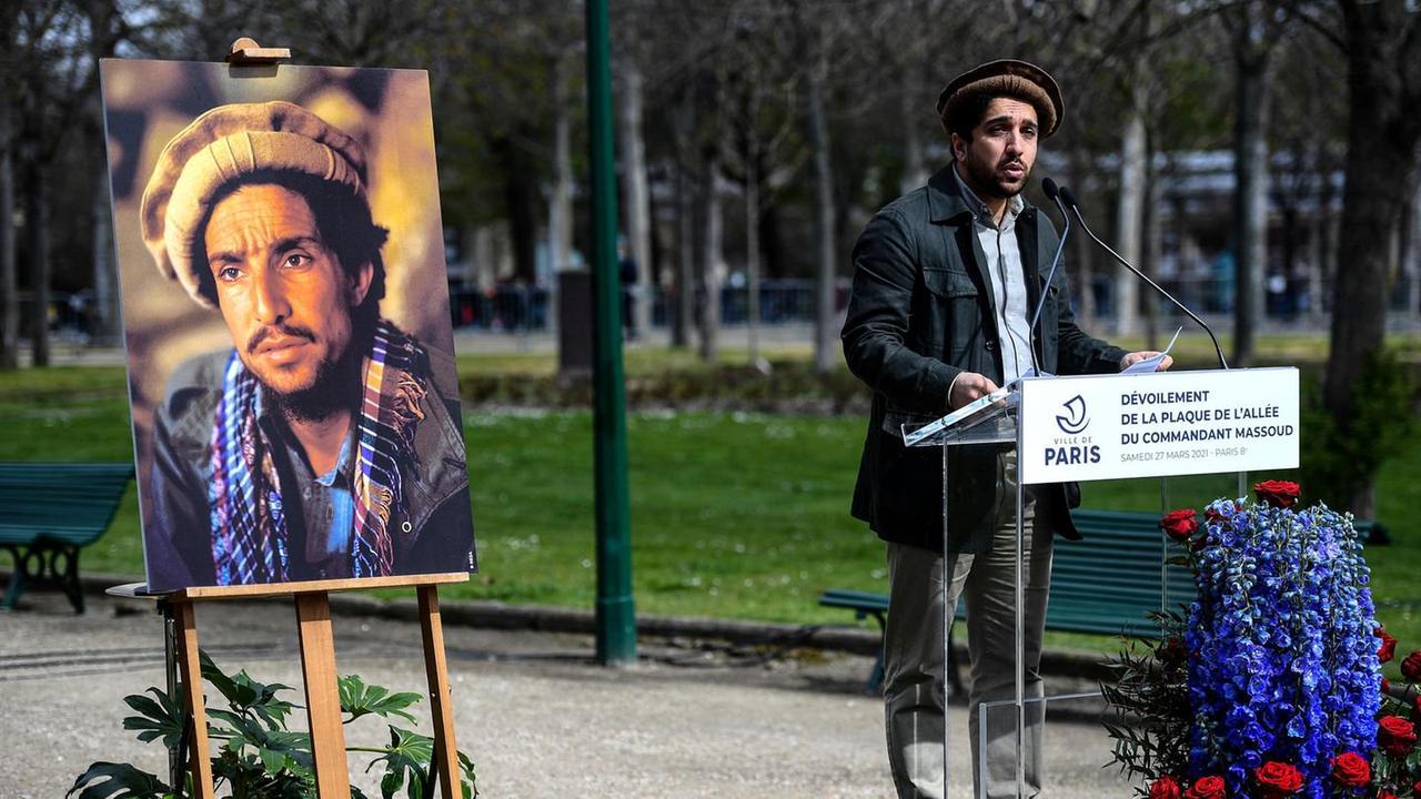 Ahmad Massoud ist der Sohn des größten afghanischen Nationalhelden ...