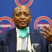 Patrice Motsepe Receives Support From FIFA President