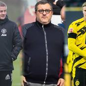 Finally Agent Raiola Hold Talks With BVB Over Haaland's Future But Champions league Will Be Key