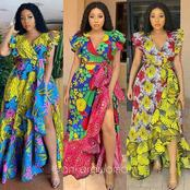 Latest Ankara Gown Styles for Fun Ladies